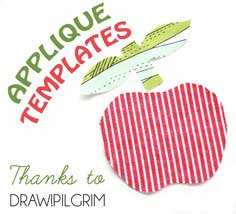 How To: Applique Template Free Printable