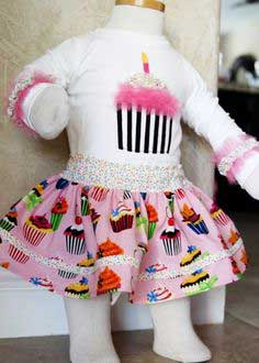 A VERY FIRST BIRTHDAY OUTFIT! (& TUTORIAL)