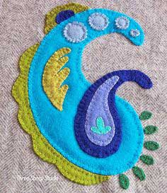 How To Applique With Wool Series - Part 1 (With Free Pattern)