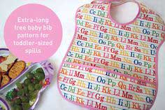 picture relating to Baby Bib Patterns Printable referred to as Child Bib Habit - 84 Free of charge Bib Types towards Sew -