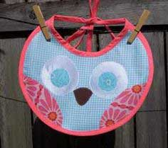 Little Owl Bib Tutorial in a Slideshow