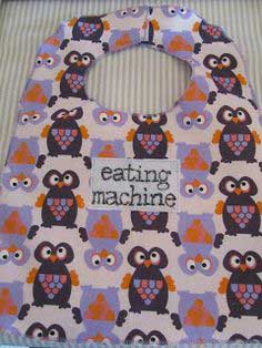 Easy way to make a bib!