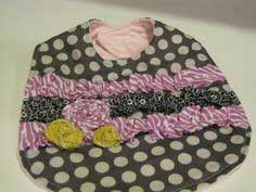 Pretty Girl Bib {tutorial!}