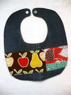 How to Make a Recycled Bib
