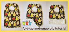 Fold-Up-and-Snap Bib Tutorial