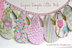 Super Simple Little Bib Tutorial- for my Slobberer and Craft Hope!