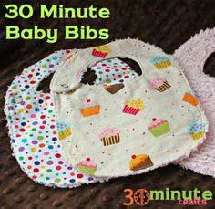 Quick and Easy Baby Bibs