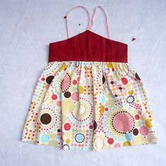 Sew Easy Part 5: Strawberry Vanilla dress