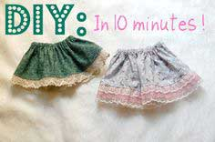 DIY Baby & Toddler Skirt Tutorial