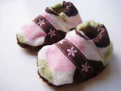 Sew Soft Baby Slippers