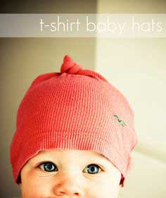 T-Shirt Baby Hat Tutorial