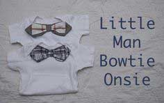 Little Man Bow-tie Onsie