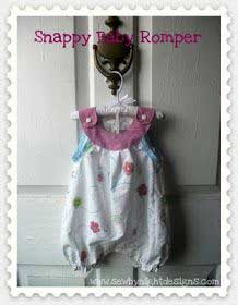 Tutorial: Snappy Baby Romper (Pattern)