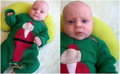 Baby Ugly Christmas Sweater One-Piece Tutorial