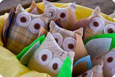 Stuffed Owl Favors