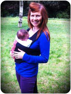 Babywearing: Three easy and quick DIY sling tutorials