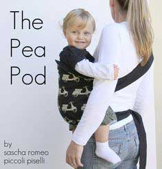 The Pea Pod Hip Carrier Tutorial + The Red Pistachio Giveaway