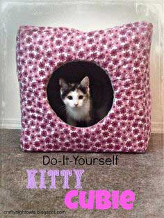 DIY Kitty Cubie