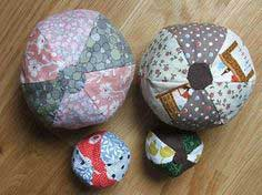 how to: a simple patchwork ball