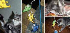 It's Fishy Cat Toys & Crack Stick – DIY & Free