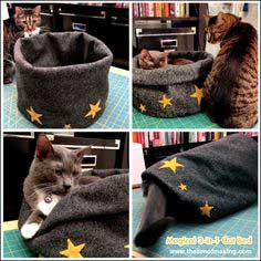 Tutorial: Magical 3-in-1 Cat Bed
