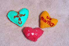 Valentine's Day Cat Toys