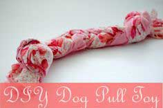 6th Day of Christmas // DIY Dog Pull Toy