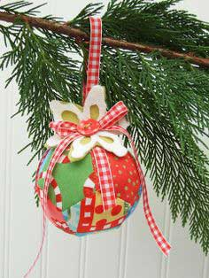 Stuffed Ornament and Stuffed Ball Toy Tutorial