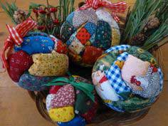 No-sew quilted Holiday ornaments