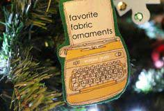 sewing: favorite fabric ornament tutorial