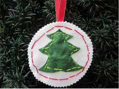 Merry Stitches Ornament