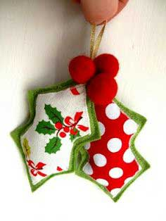 Guest Post: Felt Holly Decoration Tutorial