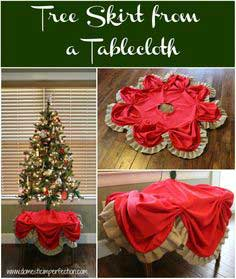 Ruffly Bubbly DIY Tree Skirt