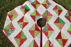 CHRISTMAS TREE SKIRT IN JULY