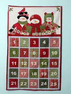 Christmas Advent Calendar Tutorial & Fabric Giveaway