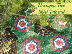 Hexagon Christmas Tree Skirt