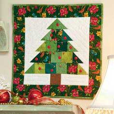 Tiny Tannenbaum Christmas Tree Quilt Pattern