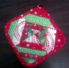 Scrap-Busting Holiday Potholder Tutorial