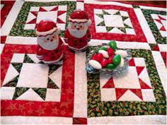 orth Star Quilted Table Runner