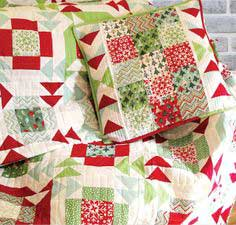 Yuletide Twist Pillow