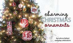 Charming Christmas Ornaments