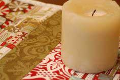 Quilt-As-You-Go Christmas Table Runner Tutorial