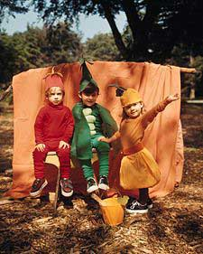 Family Costumes: Woodland Creatures