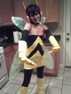 How to make an Avenger's Wasp Costume