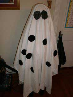 Charlie Brown Ghost Costume