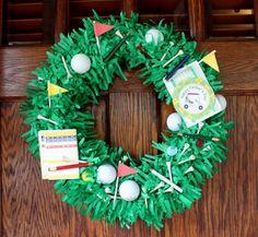 Get Your Craft On | Father's Day Golf Wreath Tutorial