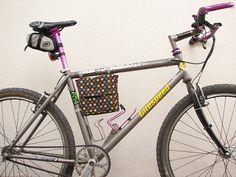 Bicycle Frame Lunch Bag