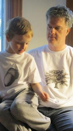 Father's Day Gift: The Nut Doesn't Fall Far From the Tree T-shirts