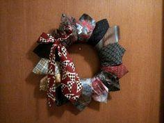 Tie Wreath Tutorial
