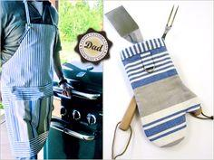 Father's Day with Fabric.com: Cook's Apron & Matching Hot Mitt
